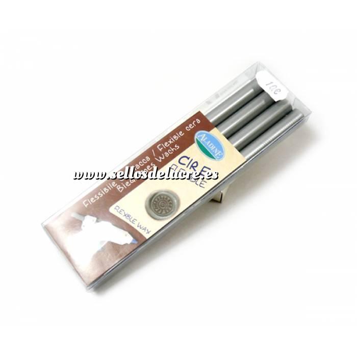 Imagen Barras para PISTOLA Barra Lacre 11mm tipo Silicona Plateado PACK DE 4 para Pistola