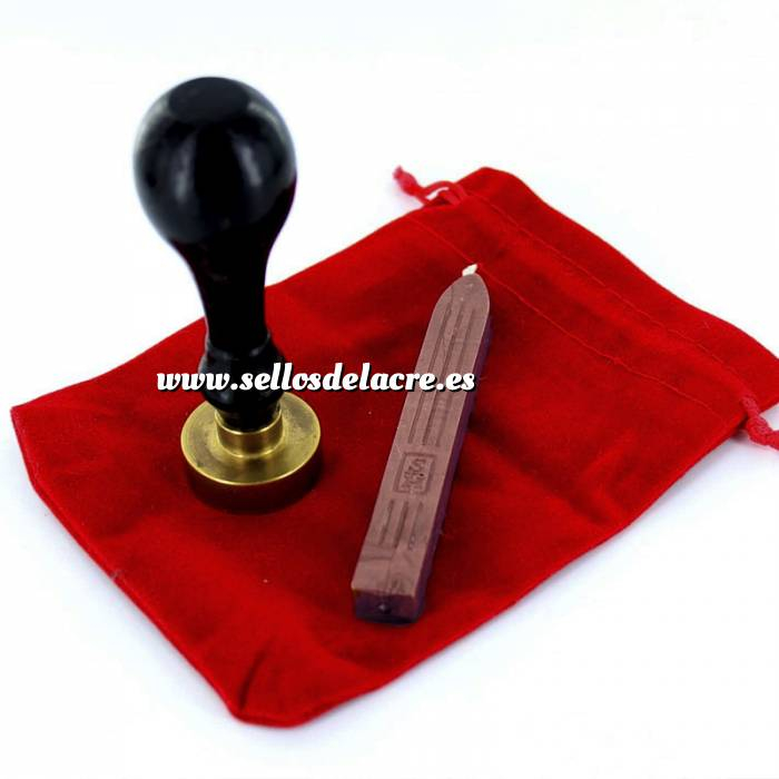 Imagen Elementos Carrito Bolsa de Antelina para el sello