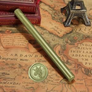 Barras para PISTOLA - Barra Lacre 10mm Flexible pistola VERDE LIMA Brillante