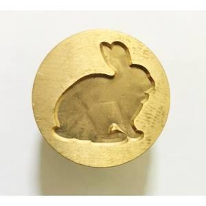 Diseños inmediatos - Sello lacre mango largo - ANIMALES - Conejo (Últimas Unidades)