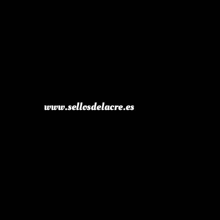 Imagen 2 Iniciales Intercambiables Placa Media Inicial D para sello vacío de lacre