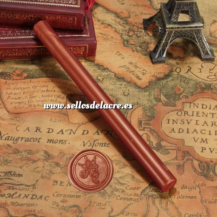 Imagen Barras para PISTOLA Barra Lacre 10mm Flexible pistola COBRIZO Brillante