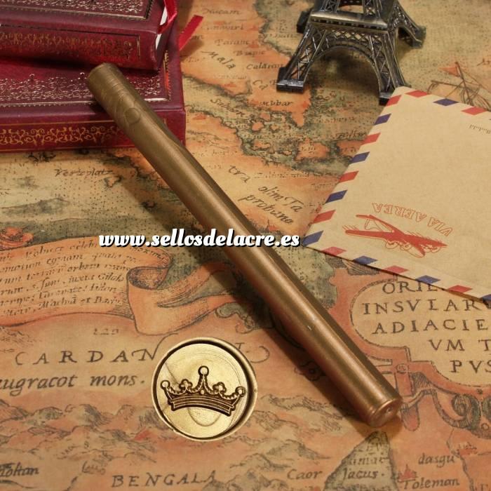 Imagen Barras para PISTOLA Barra Lacre 10mm Flexible pistola DORADO OSCUROBrillante