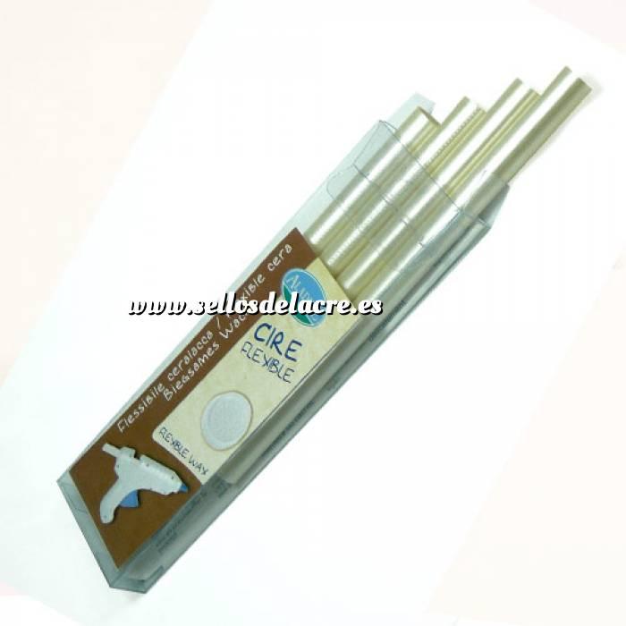 Imagen Barras para PISTOLA Barra Lacre 11mm tipo Silicona Nácar PACK DE 4 para Pistola