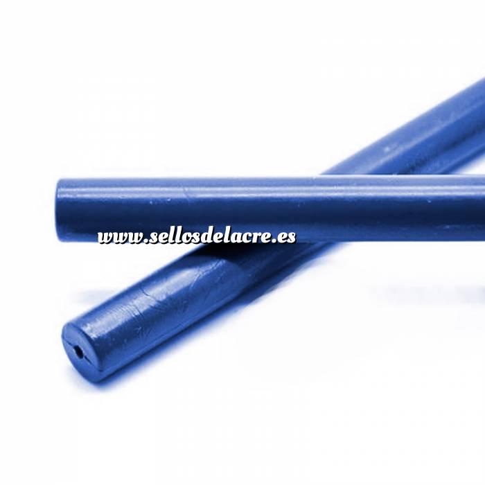 Imagen Barras para PISTOLA Barra Lacre 12mm de Resina AZUL MARINO para Pistola