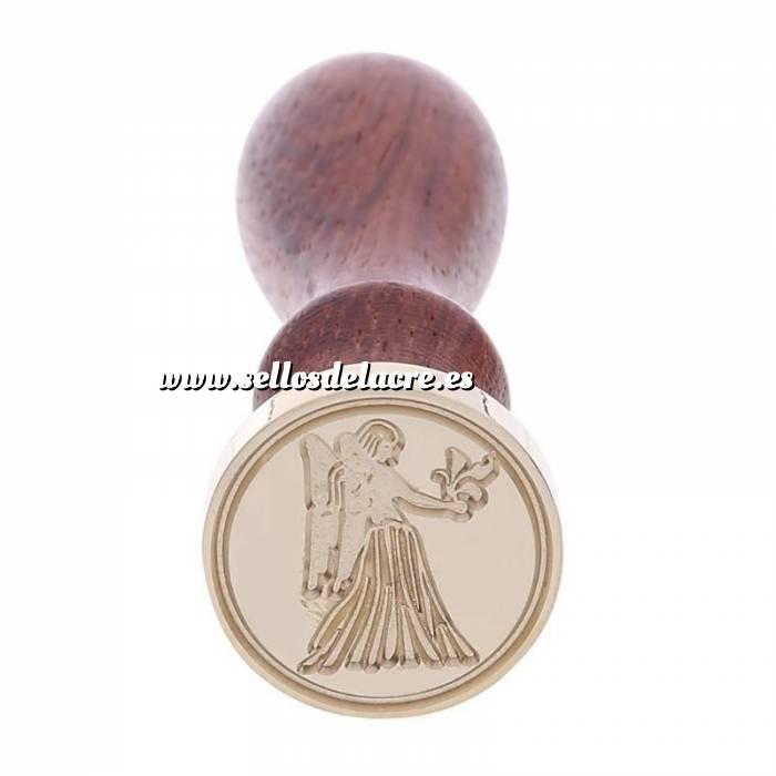 Imagen Diseños inmediatos Sello lacre mango largo - SIGNOS DEL ZODIACO 2 - Virgo (Últimas Unidades)