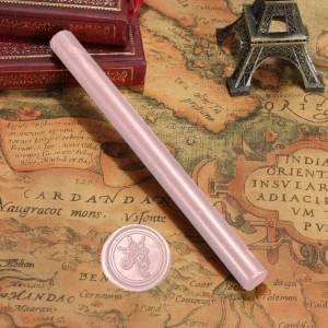 Barras para PISTOLA - Barra Lacre 10mm Flexible pistola ROSA CREPE Brillante