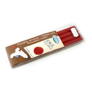 Barras para pistola - Lacre Rojo - Pack 4 uds - Barra de Lacre Rojo para pistola