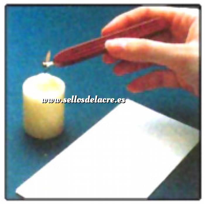 Técnicas e Instrucciones 01 - Calentar Barra de lacre en una vela