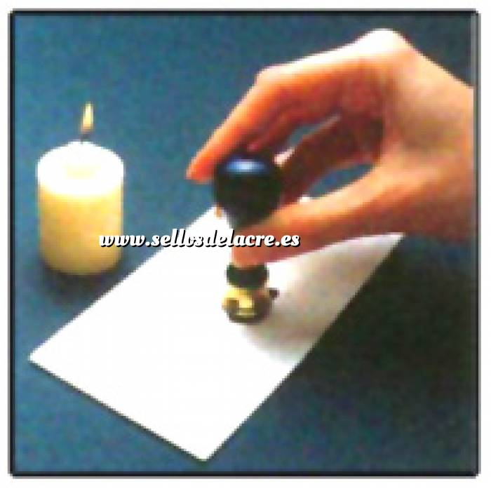 Técnicas e Instrucciones 03 - Fijar el sello unos segundos